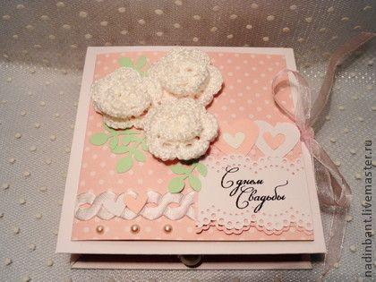 "Коробочка для денег ""С днем свадьбы"" - коробочка для денег,коробочка для подарка"
