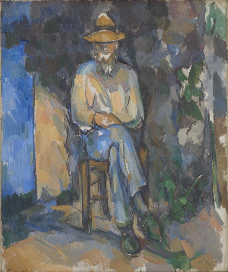 'The Gardener Vallier', Paul Cézanne, c.1906 Tate Paul