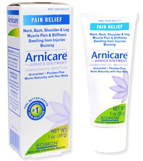 Arnicare Ointment | Boiron If you all right with the petroleum jelly style base, and it is available as a gel or cream in unscented form if you can get it, then this really helped post-run aches. Reminded me of an old-fashioned muscle rub, without the scent: 7/10.