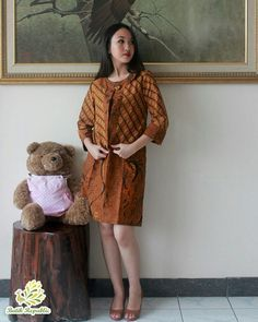 Batik dress modern , batik republic , Order by WA : +6281210197400 or Line : batikrepublic