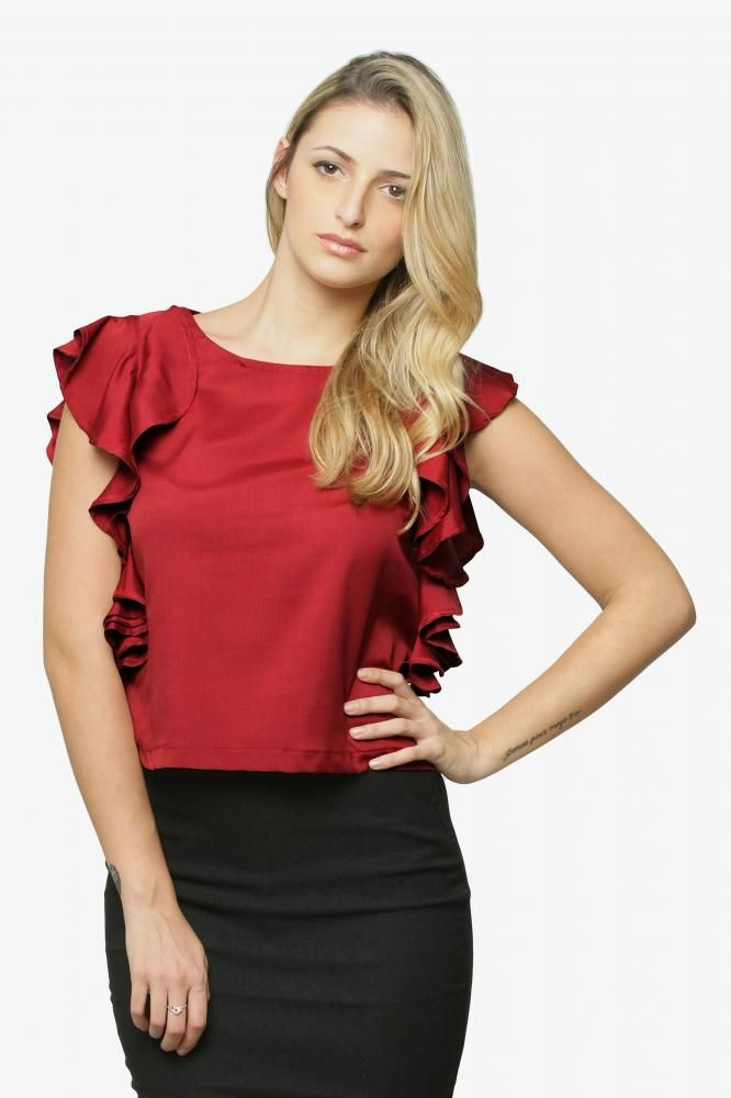 Rock The Ruffle Top