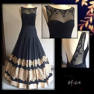 Bollywood Designer Wedding Gown Indian Pakistani Salwar Kameez Latest Ethnic NEW in Clothes, Shoes & Accessories, Women's Clothing, Dresses   eBay
