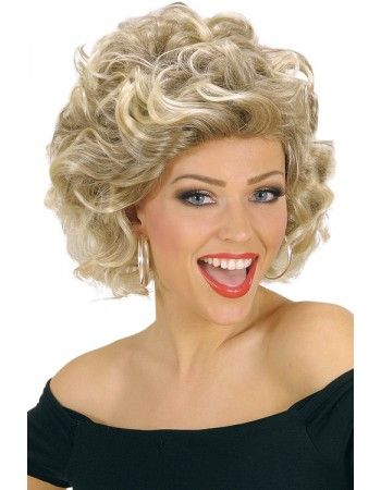 Perruque disco blonde Sandy Grease Déguisements Perruques adultes #grease #sandy #deguisement #costume #perruque