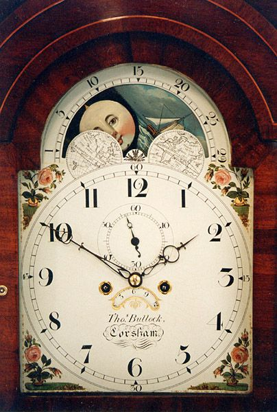 The faces of old grandfather clocks can be a opportunity to own beautiful art and a clock  - Google Search