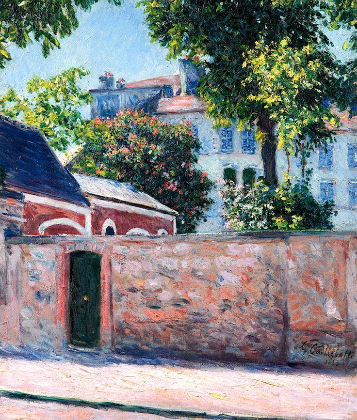 Gustave Caillebotte 1848 - 1894 Maisons À Argenteuil