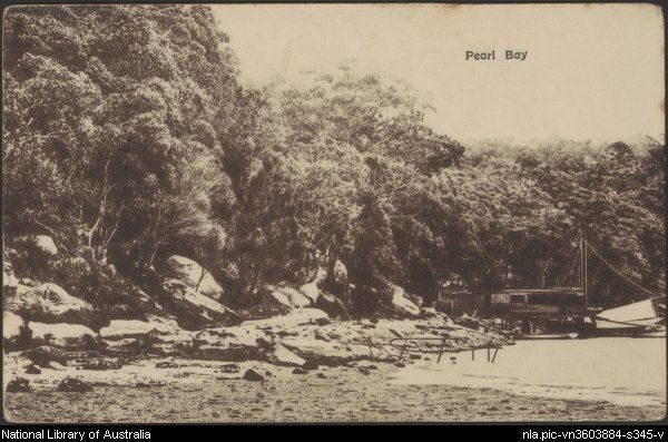 Pearl Bay, Middle harbour, New South Wales c1920