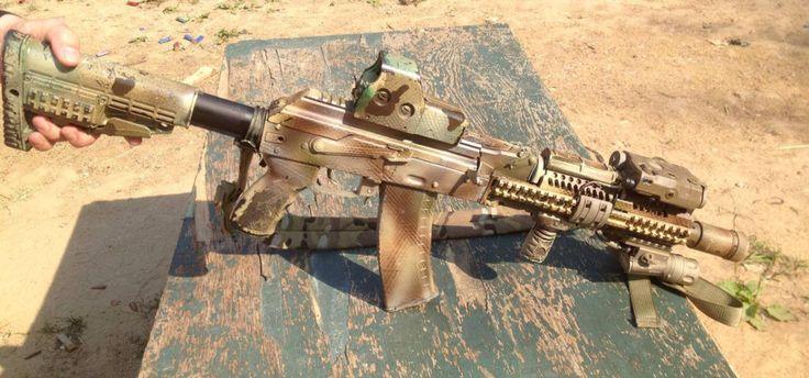 Russian FSB AK-105