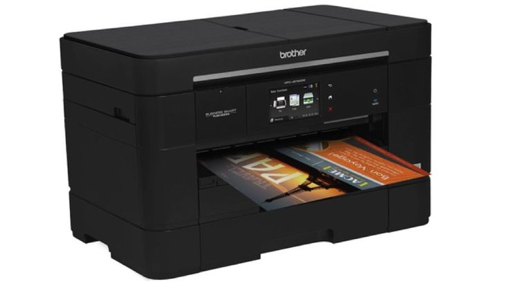 Brother MFC-J5720DW Business Smart inkjet printer review | Brother's flagship inkjet for small/home offices has lots of features including colour A3 printing and a low price, but that doesn't mean the running costs are ruinously expensive. Reviews | TechRadar