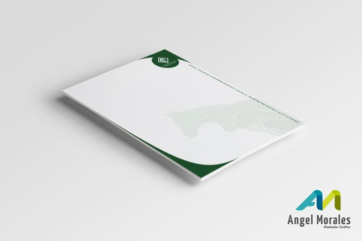 Diseño hoja membrete - Agroservet