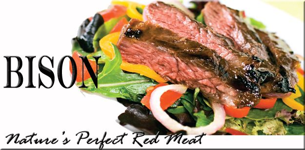 All-Natural, Grass Fed Bison Meat. www.BuffaloGal.com