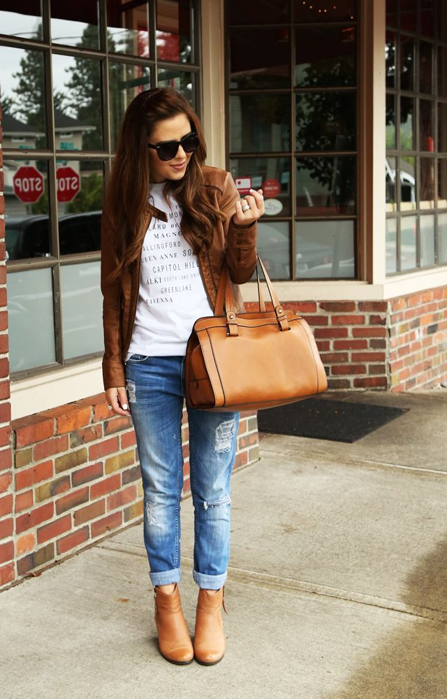 love the boyfriend jean style!  my ankle boots would be great with these!