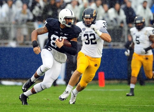 Penn State Football: What Christian Hackenberg Needs to Improve in Big Ten Play BY TIM TOLLEY (FEATURED COLUMNIST) ON OCTOBER 4, 2013 518 reads 2  Icon_comment SHARE TWEET Previous 4 of 6 Next Utilize the Tight Ends. It's no secret that Bill O'Brien's offense provides opportunities for tight ends.   In 2012, Penn State tight ends totaled 81 catches and 10 touchdowns. With a third of the 2013 season in the books, the tight ends have just 21 catches and not a single touchdown reception.