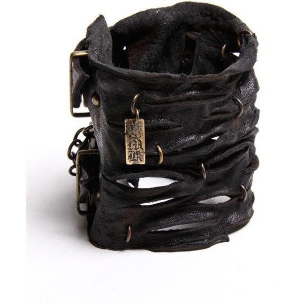 black large road warrior cuff ($274) ❤ liked on Polyvore featuring jewelry, bracelets, accessories, cuff, women, black bracelet, adjustable cuff bracelet, cuff bangle, copper bracelet and leather cuff bracelet