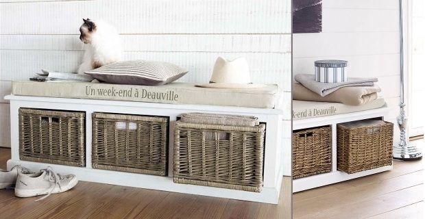 Oltre 25 fantastiche idee su panca contenitore su for Cassapanche piccole legno