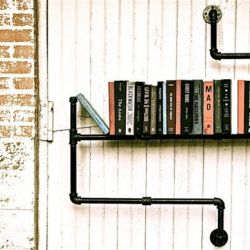 Reuse your old pipes and turned them into shelf and more. #dwellinggawker