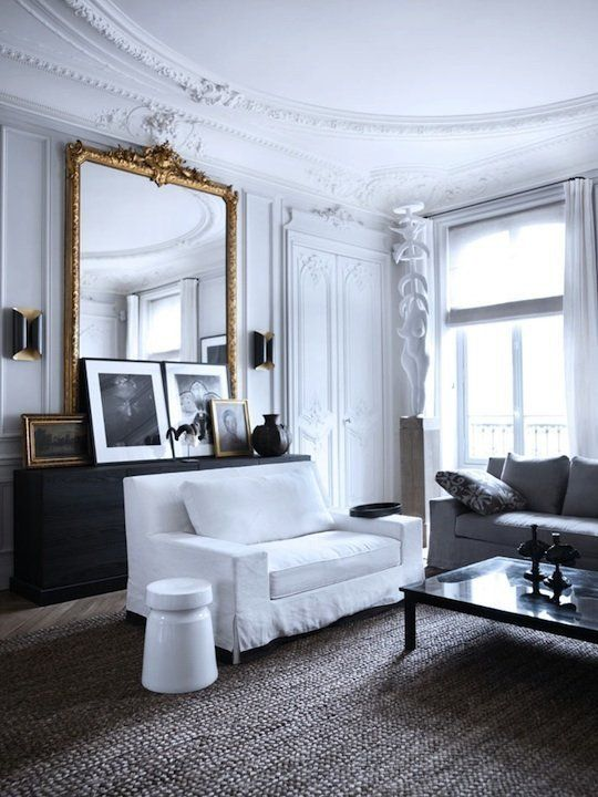 How To Decorate Like a Parisian from apartment therepy. Get the tips in how to decoarate in the Parisian style. I think the tips are great but ignore the bit about keeping walls white. Europeans embracve color that we north americans are terrified of.