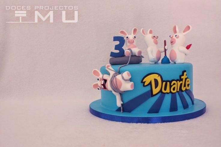 doces projectos MU: Bolo Duarte_Rabbids Invasion_Outubro 2014