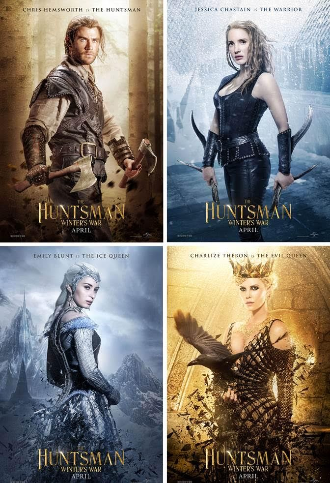 The Huntsman Winters War l 4.0 A waste of some seriously good talent that ends up being a generic and by the numbers fantasy tale
