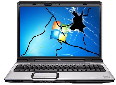 Replacing broken laptop screens?
