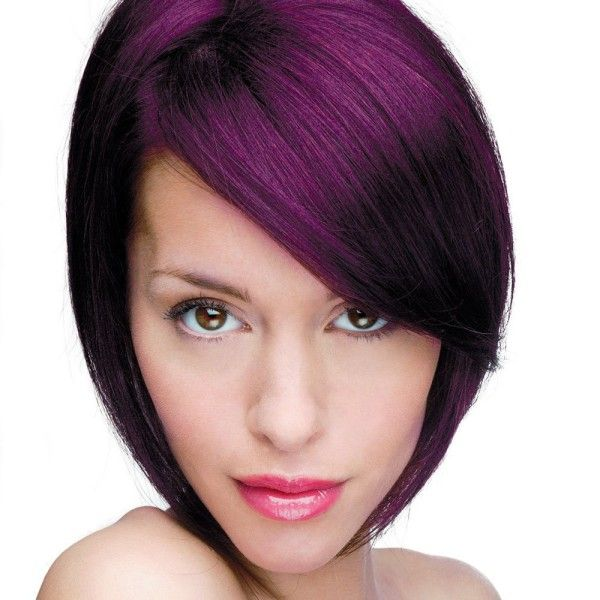 permanent purple hair dye without bleach