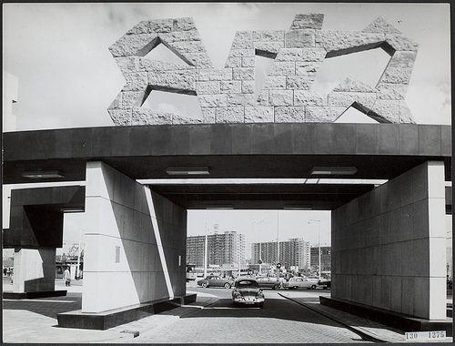 Sybold van Ravesteyn, centraal station, Rotterdam 1954-1957. Beeld J. H. Baas
