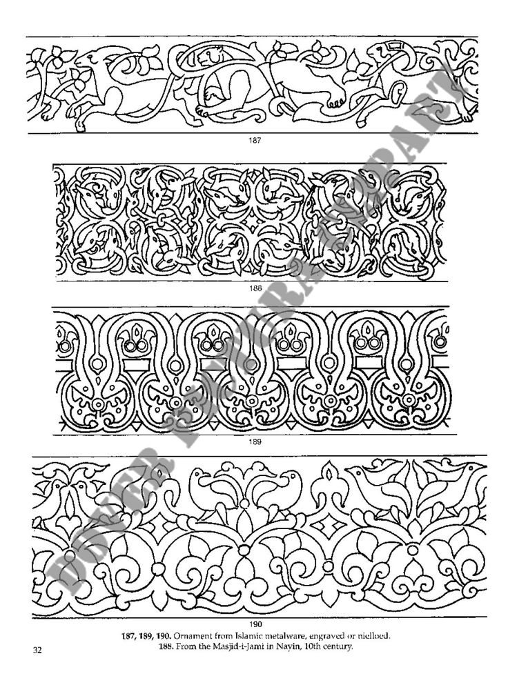 Persian Designs and Motifs