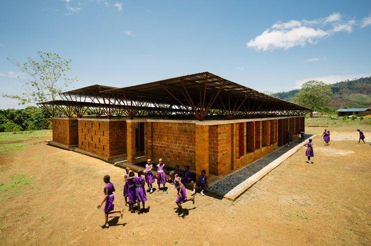 Girls' school in Kenema