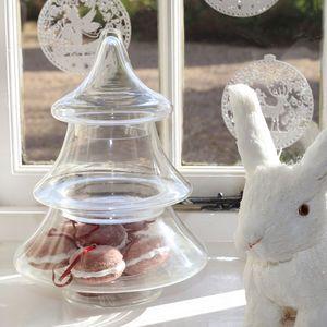 Christmas Tree Glass Bonbonniere - tableware £39