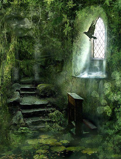 Chapel Ruins,  Cornwall, England