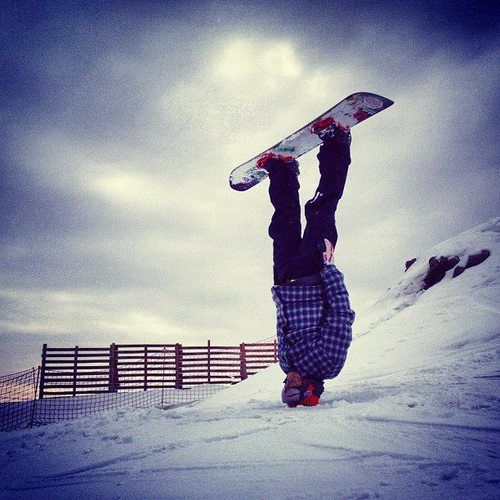 BORN TO SNOWBOARD ❄ | viblical: you're doing it wrong ~