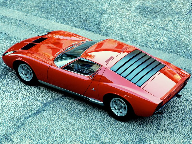 32 Photos Of The Greatest Lamborghini Ever Made   The Miura   Airows