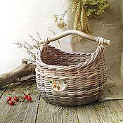 Fül Для дома и интерьера ручной работы. Ярмарка Мастеров - ручная работа Короб-кузовок плетеный `Шиповник`. Handmade.