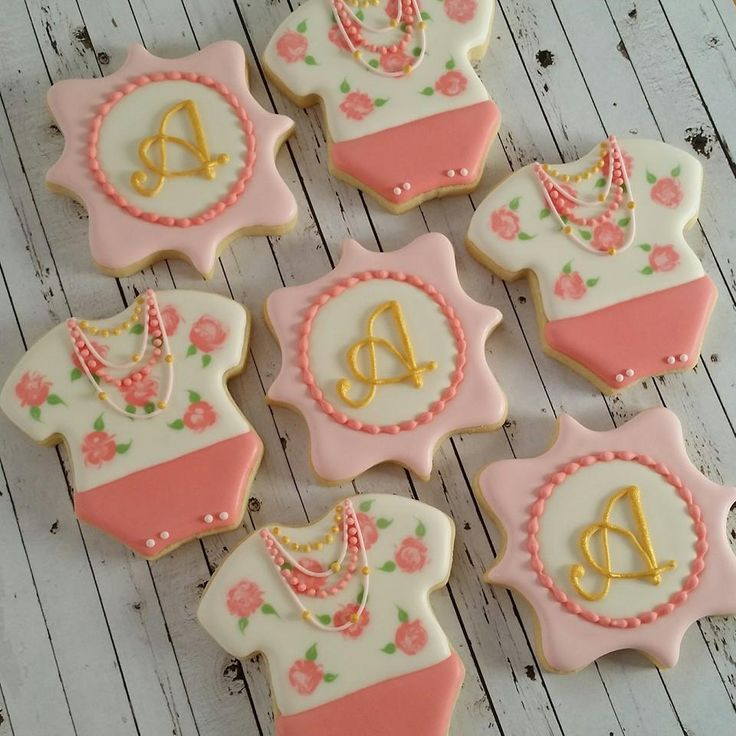 baby shower biscuits baby girl cookies and baby shower cookies