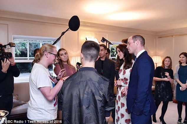 Busy evening! That same night, the royals honoured the stars of the Rio 2016 Games and spent time speaking to all the medal winners, including Max Whitlock and Nicola Adams