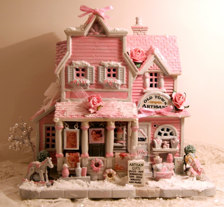 Heartland Valley Village Lighted House: 48 Best Lemax Christmas Village Images On Pinterest