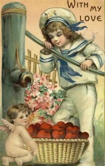 Vintage Valentine's Postcard