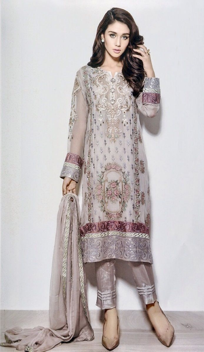 GEORGETTE WITH EMBROIDERY DRESS MATERIAL.. https://www.facebook.com/Hinas-Exclusive-Collection-663853597086358/? ref=aymt_homepage_panel WATSAPP NO - 08867974236