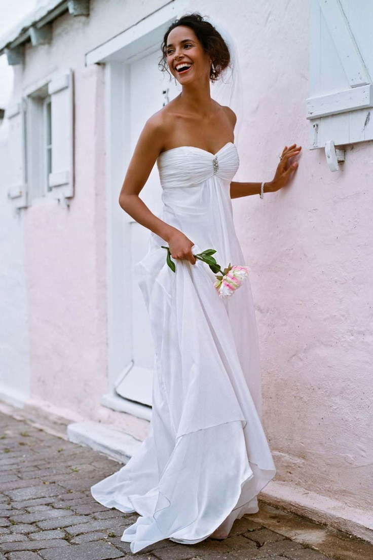 40 best david 39 s bridal contest images on pinterest for Davids bridal beach wedding dresses