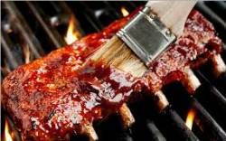 Jake's Famous Foods Fall Off The Bone Bourbon Glaze Recipe Video.  Follow these steps and use our natural flavors Maple Bourbon BBQ Sauce and Ball Park Ketchup to achieve a perfect glaze for ribs and tri tip.