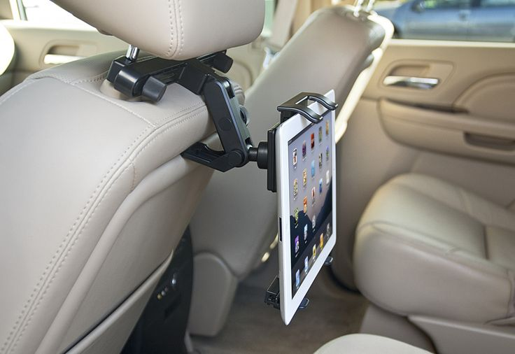 Universal Tablet Headrest Mount: Idea, Headrest Mount, Tablet Headrest, Sharper Image, Kid