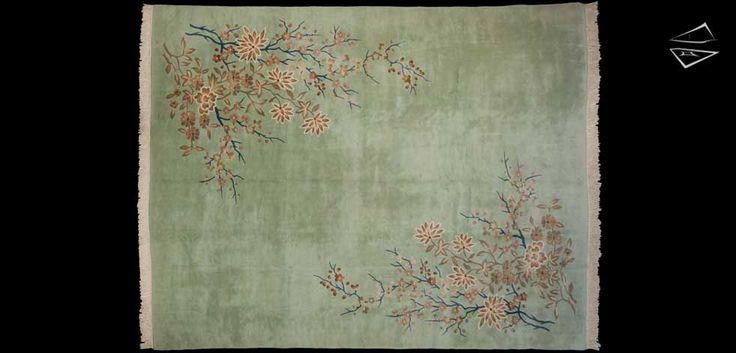 Peking Design Chinese Style Weave Oversize Carpet 12'0″ X 15'0″