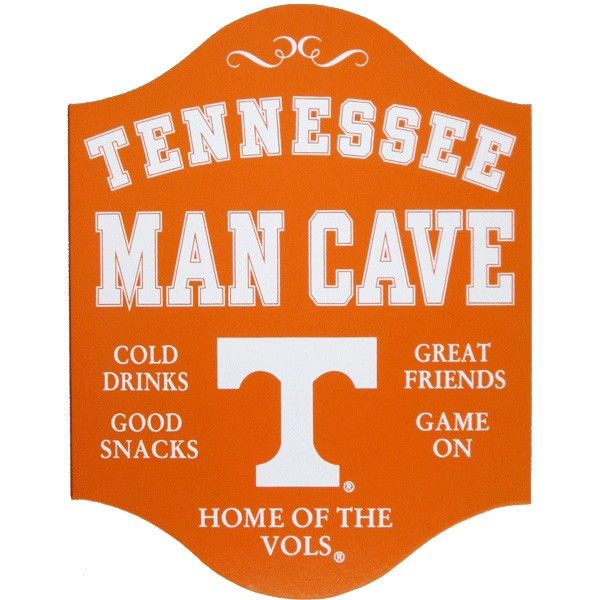 Man Cave Jackson Tennessee : Tennessee volunteers man cave sign football