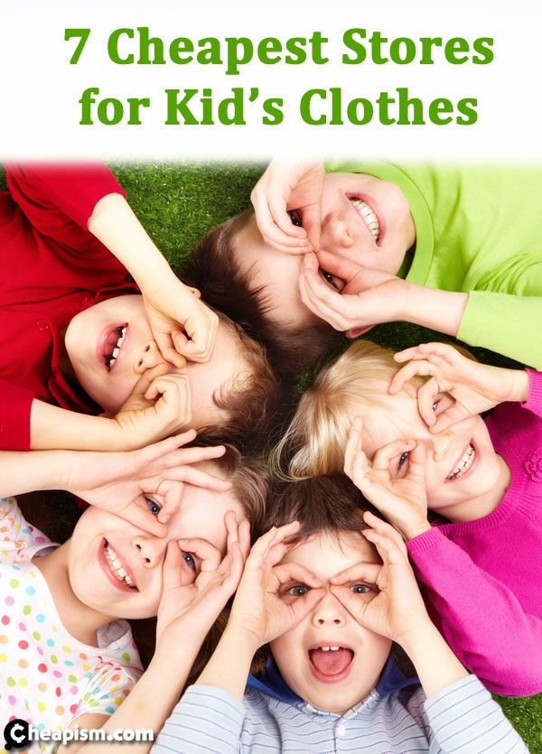 Get some great new outfits and find out which stores are best for buying kid's clothing on a budget