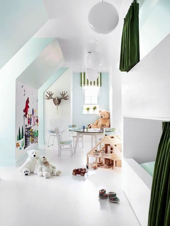 The Best Attic Ideas - Bunk + Playrooms For Kids