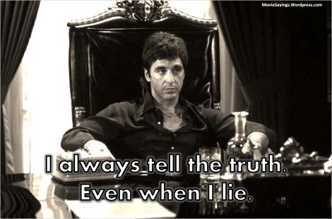 """Al Pacino in """"Scarface"""" (1983)"""