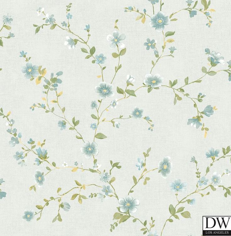 best 25+ blue floral wallpaper ideas on pinterest | floral