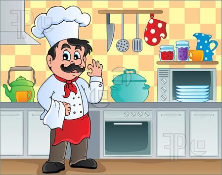 126 Best Illustration Baking And Cooking Images On