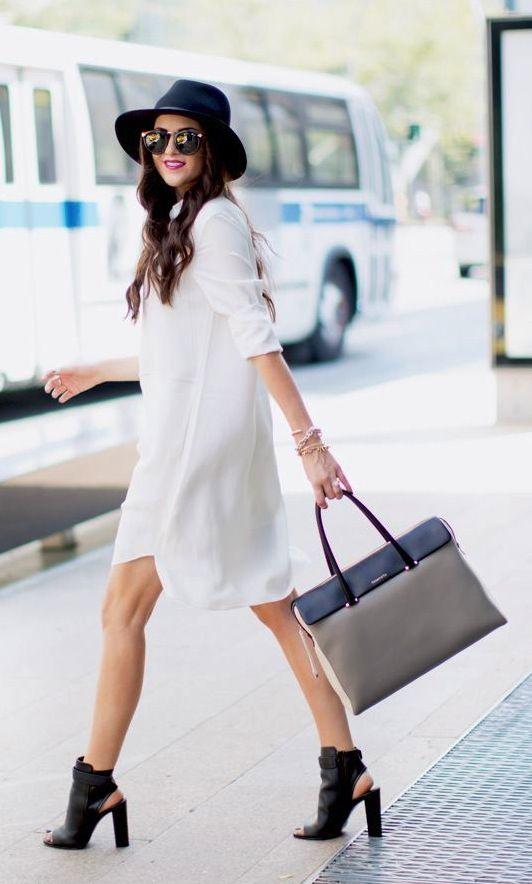 ¡Luce fresca y trendy con un vestido camisero!