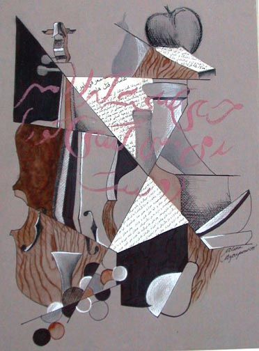 thank you Ken Schwab for finally teaching me how to teach and create cubist art
