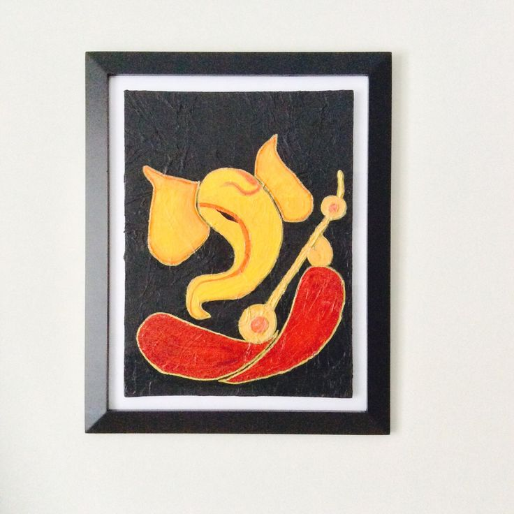 A personal favorite from my Etsy shop https://www.etsy.com/listing/267622236/ganesha-with-veena